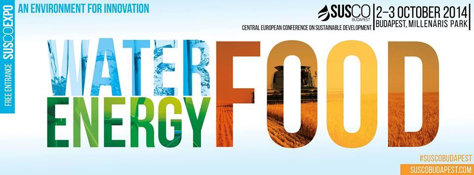 SUSCO Budapest- nemzetközi fenntarthatósági konferencia