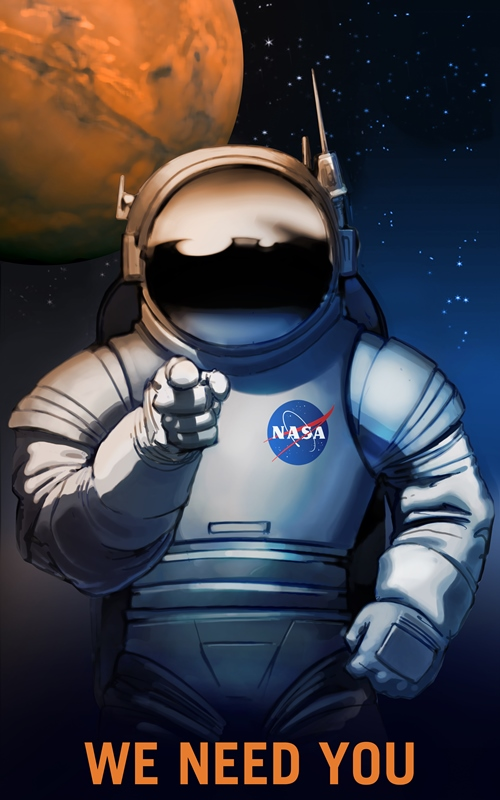 P08-We-Need-You-NASA-Recruitment-Poster