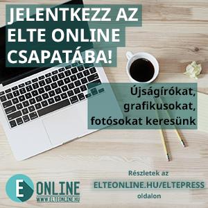 Jelentkezz az ELTE Online csapatába!