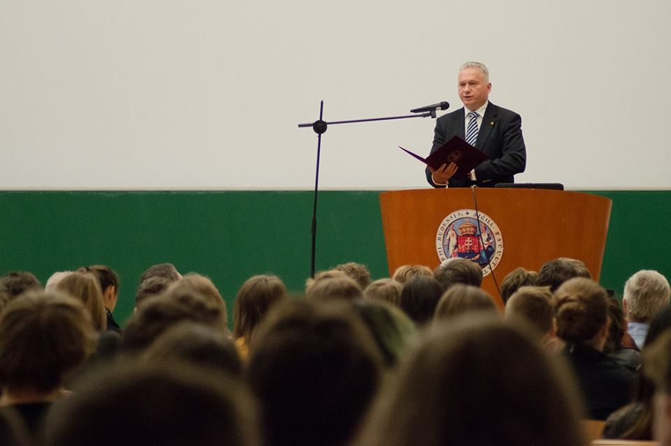 Borhy László dékán úr megnyitó köszöntője