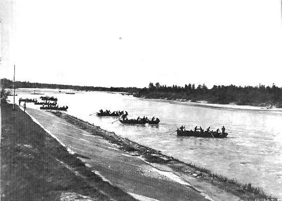Tagliamento1917 forrás kaiserjaeger.com)
