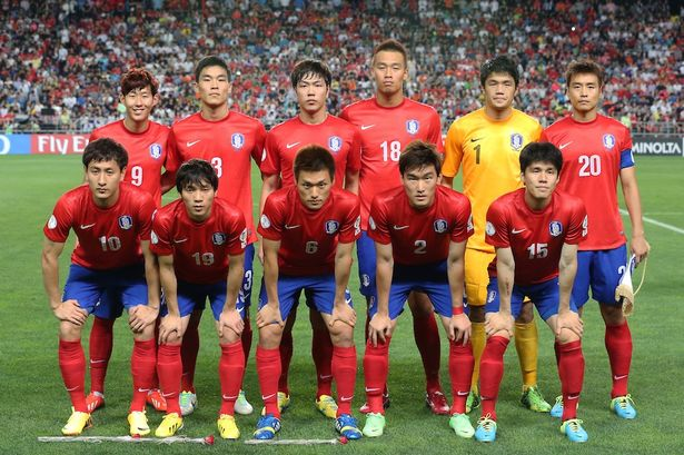 A dél-koreai 11 (forrás: mirror.co.uk)