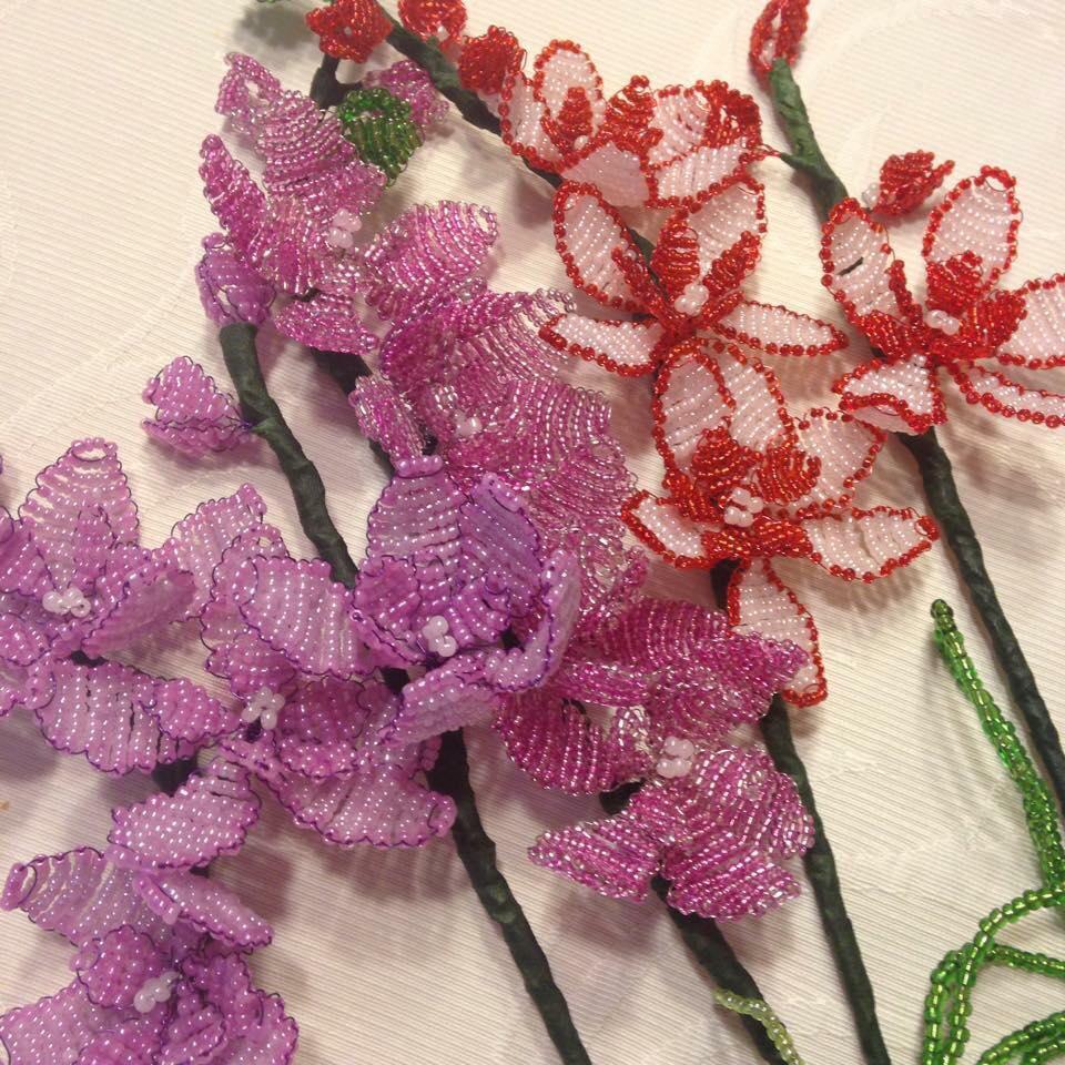 Bius csodaszép gyöngyvirágainak darabjai