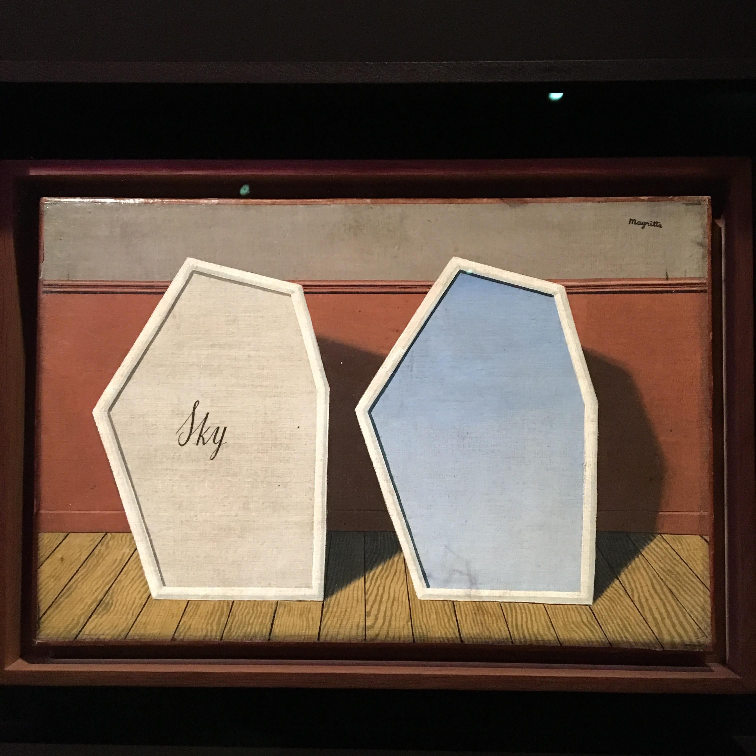 Tojások, madarak és fények – A brüsszeli Magritte