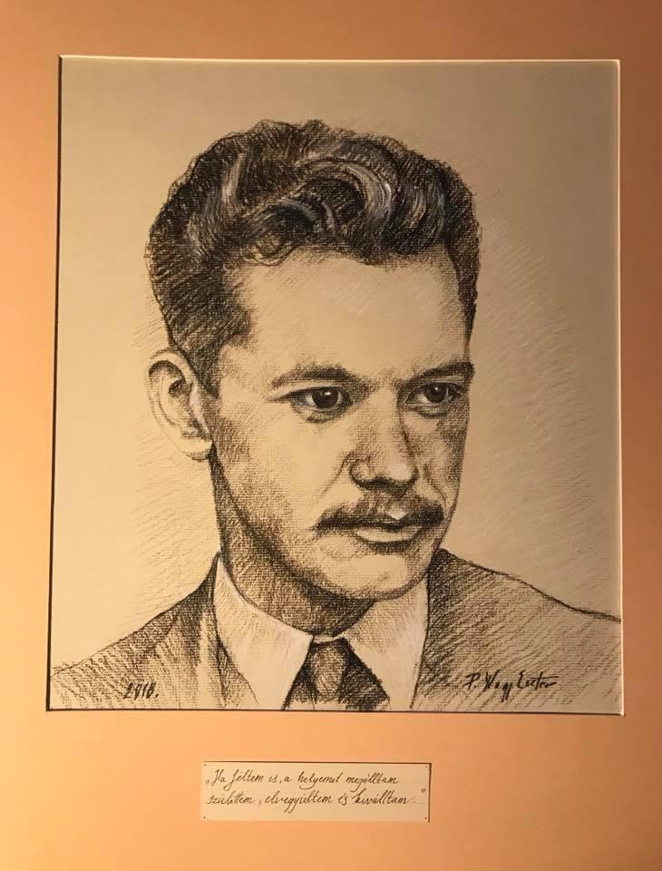 József Attila rajz