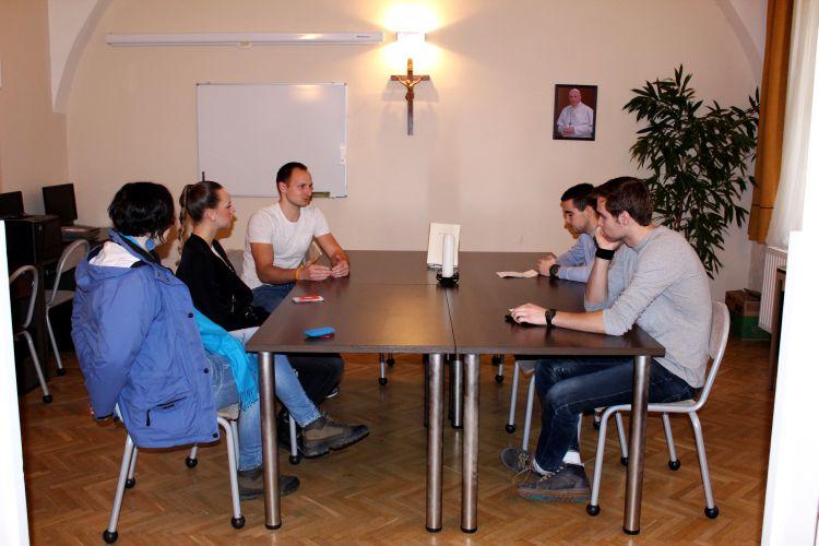 Nagyböjti lelkigyakorlat a II. János Pál Katolikus Szakkollégiumban (11)