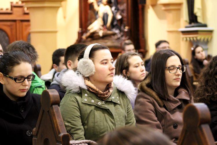 Nagyböjti lelkigyakorlat a II. János Pál Katolikus Szakkollégiumban (21)
