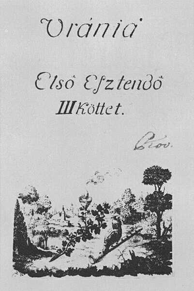 Az Uránia c. folyóirat. Kép forrása: mek.oszk.hu