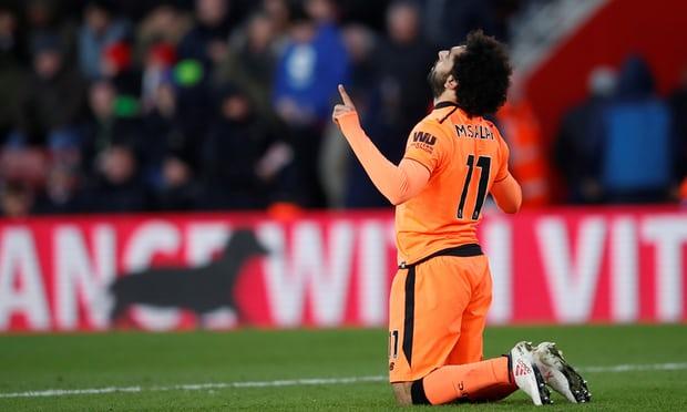 Salah imája (forrás: Reuters)