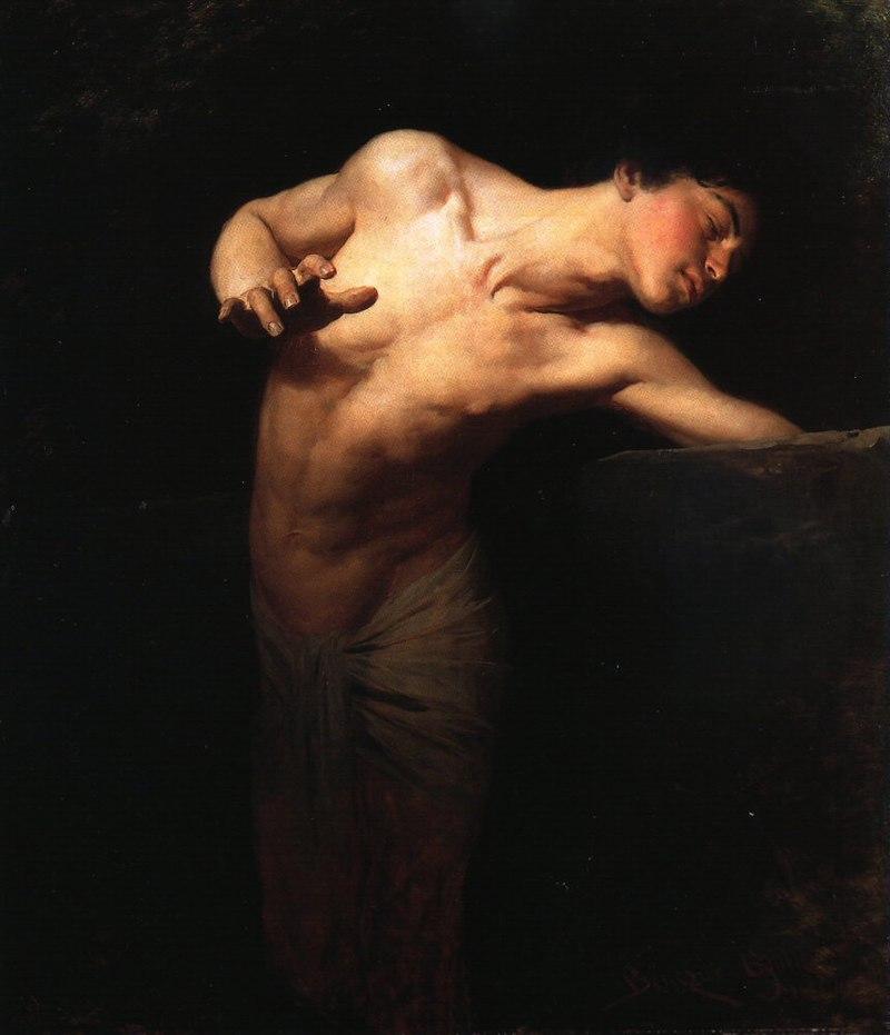 800px-Benczur-narcissus