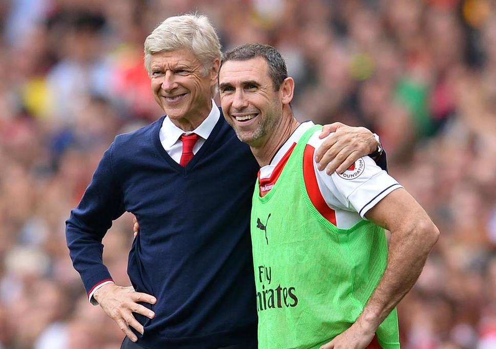 Wenger és tanítványa, Keown (standard.co.uk)