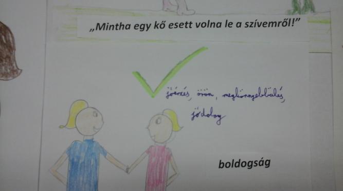 A Bélapátfalvai Petőfi Sándor Két Tanítási Nyelvű Általános Iskola alsósainak rajza