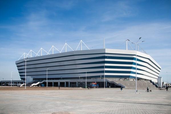 A 257 millió euróból (81 milliárd forint) megépült stadion, ősztől az FC Baltika otthona lesz. Kép: Google