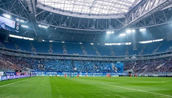 A szentpétervári stadion szemet gyönyörködtető! Forrás: Google