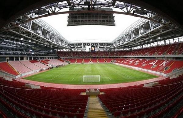 """A másik moszkvai stadion """"csak"""" a nyolcaddöntőig kíséri a csapatokat. Forrás: Google"""