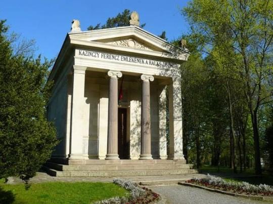 A Kazinczy-emlékcsarnok Széphalomban