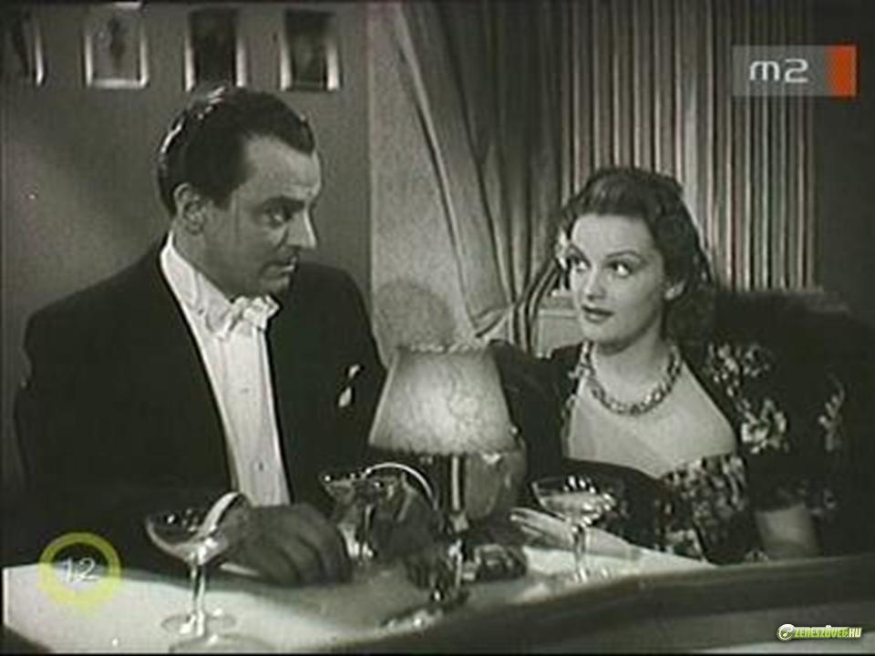 Tolnai Klári és Jávor Pál az Egy csók és más semmi filmverziójában (1941)