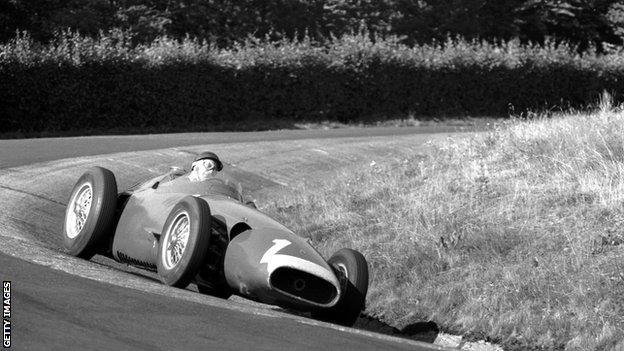 Juan Manuel Fangio visszatérése (Német nagydíj, 1957)
