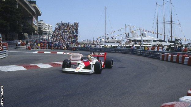 Ayrton Senna kvalifikációja (Monaco, 1988)