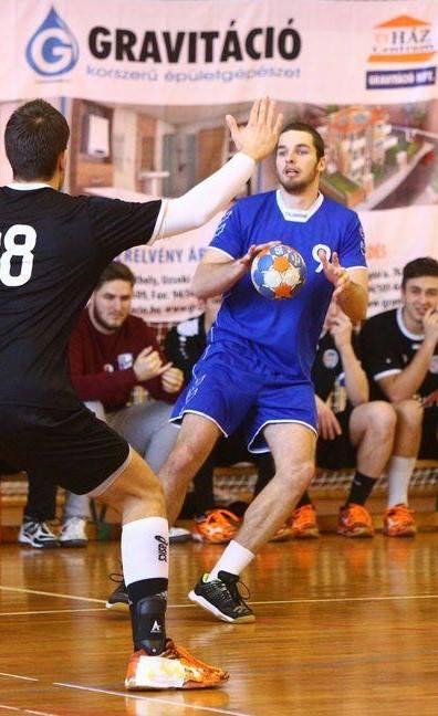 Tánczos Balázs ma már, mint edző erősíti a SZoESE kézilabda csapatait! Fotó: Facebook