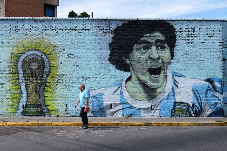 A legendás Diego Maradona is Buenos Aires utcáin nőtt fel