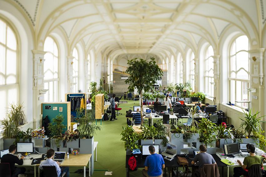A Prezi irodája