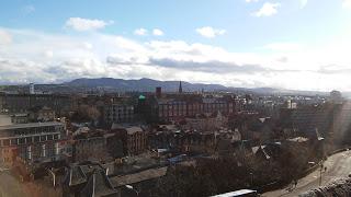 Edinburghi kilátás a vároromból