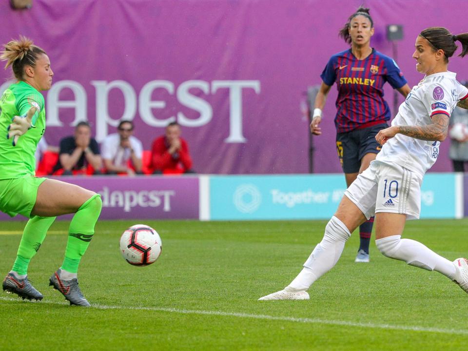 Marozsán megszerzi a vezető gólt. forrás: nemzetisport