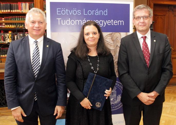 Bóna Judit az ELTE Ígéretes kutatója a nyelv és irodalomtudomány kategóriában 2018-ban