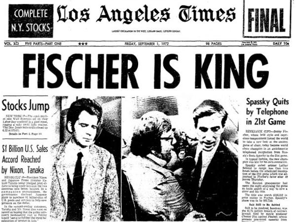 A korabeli amerikai lapok címlapon számoltak be a győzelemről