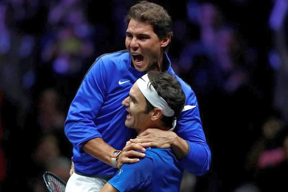 Nadal és Federer a Laver-kupán