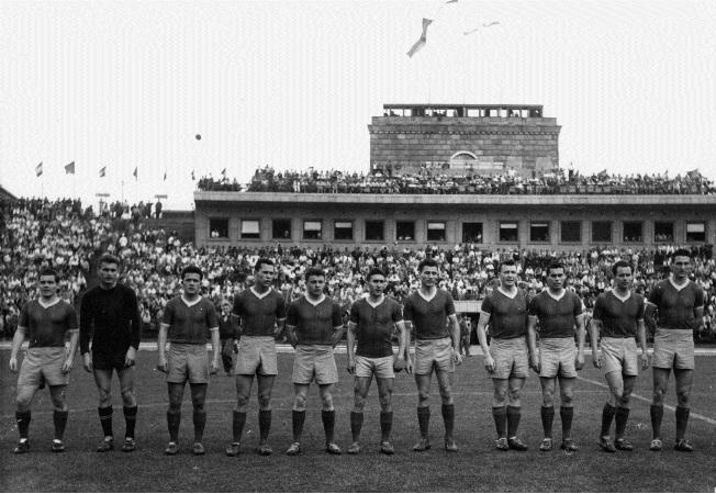 1957 - az első bajnoki Vasas arany