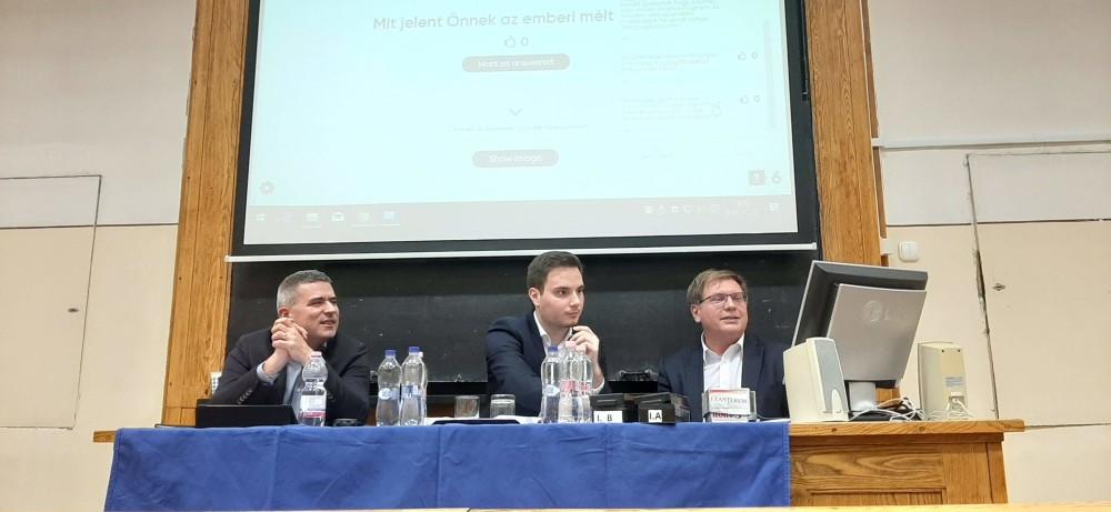 Dr. Menyhárd Attila, Antal Gergely, dr. Fabiny Tamás