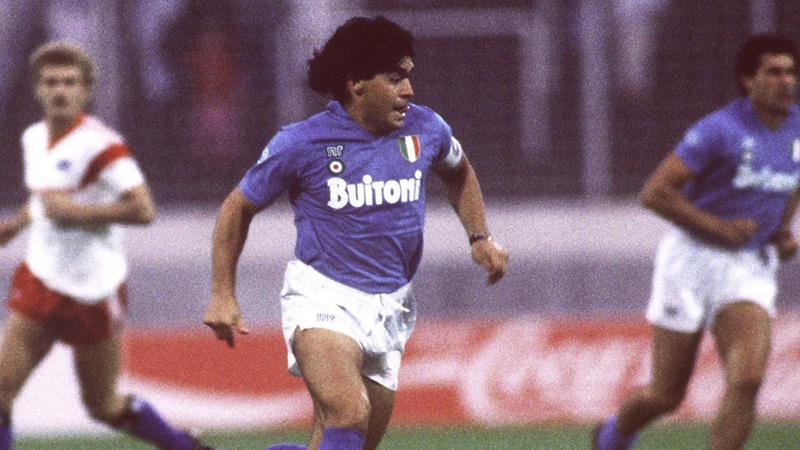 Maradona a Napoli színeiben