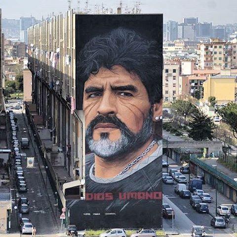 Maradona a nápolyi legenda