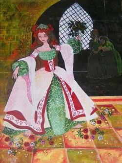 rózsát nevető királykisasszony