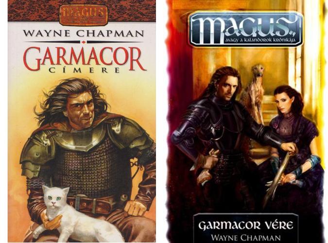 Garmacor könyvek