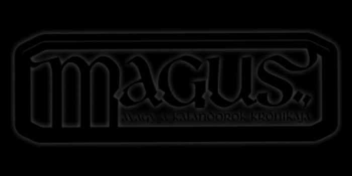 MAGUS gyászlogó