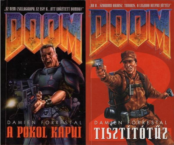 magyar DOOM regények