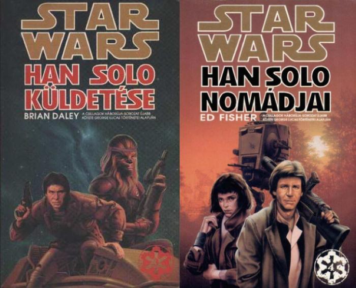 magyar SW - Han Solo könyvek