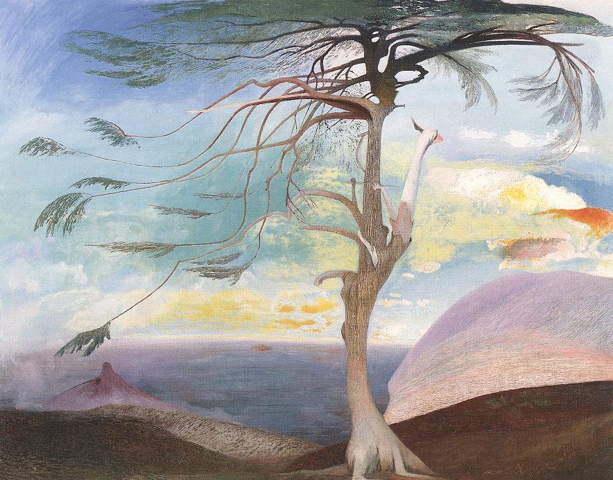 Kép: www.hung-art.hu Csontváry-Kosztka Tivadar: A magányos cédrus