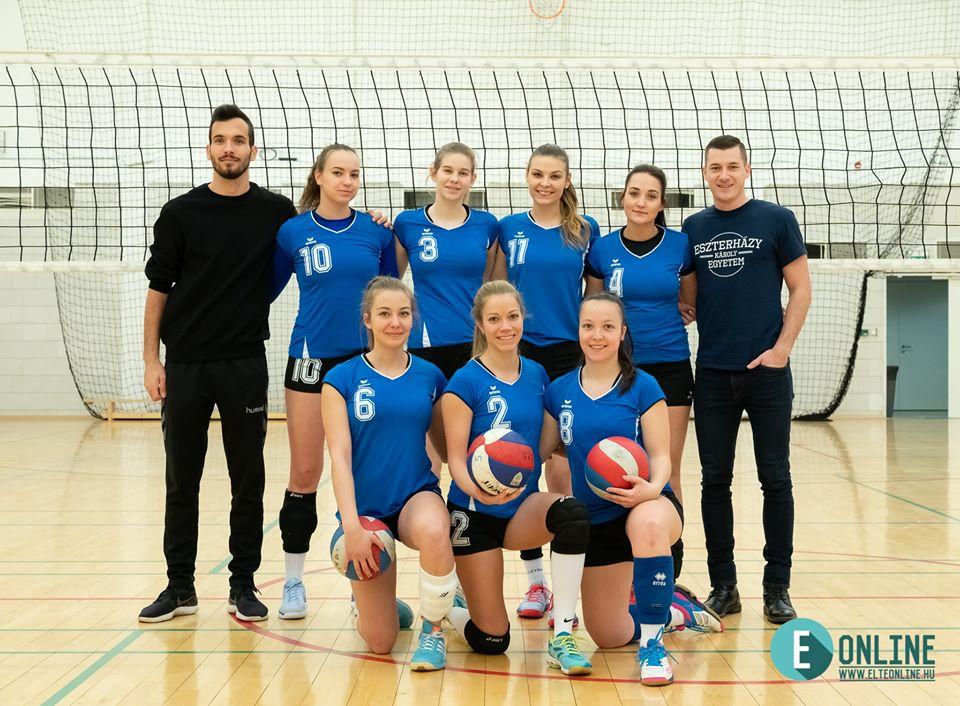 Az EKE Eger bajnokcsapata