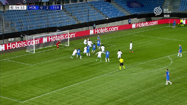 Molde 1. gól