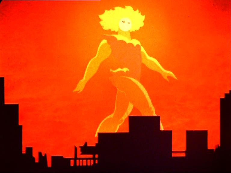 Fehérlófia – maga a mítosz – sétája a város fölött