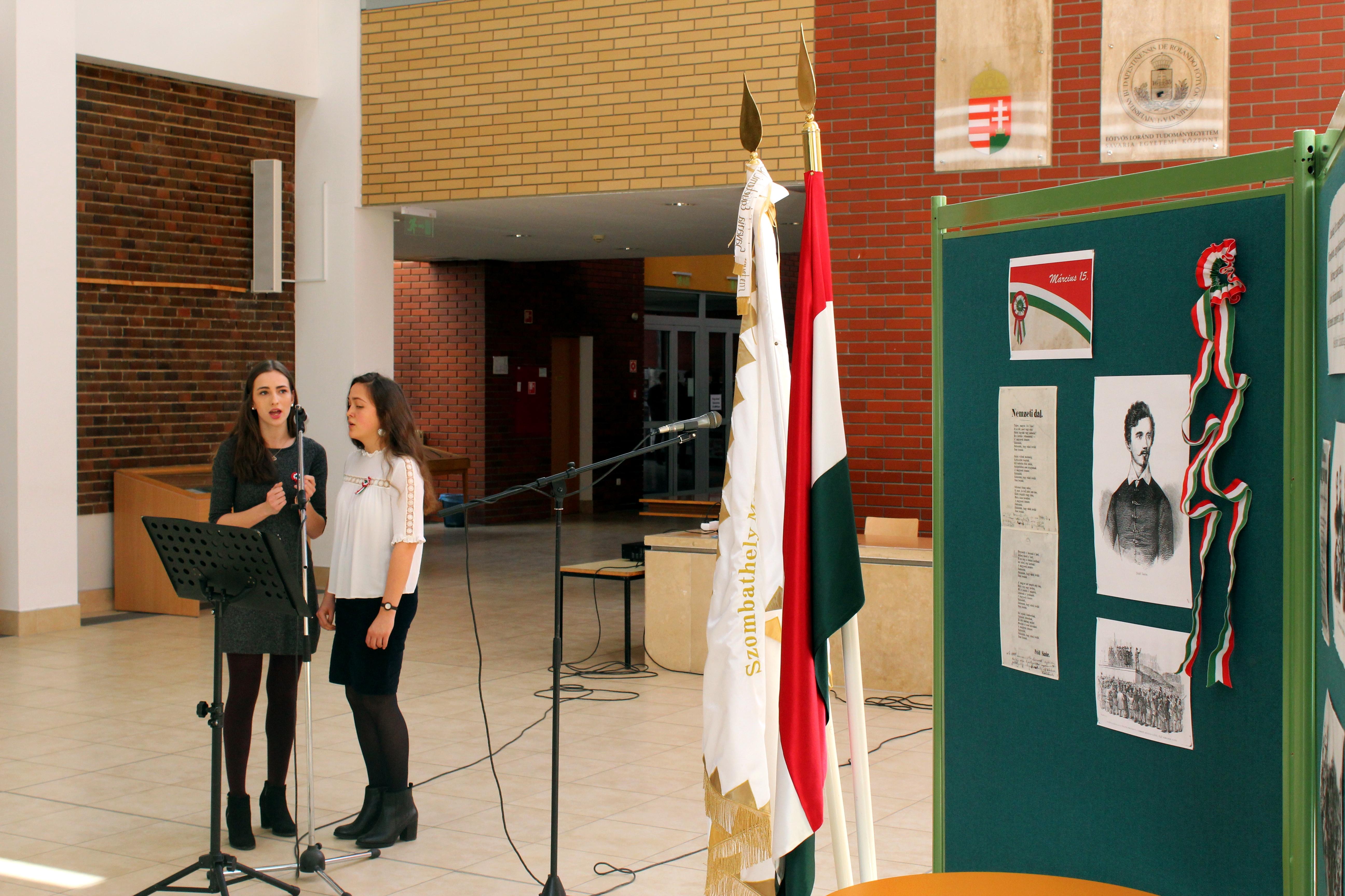Március 15-i ünnepség a Savaria Egyetemi Központban (4)