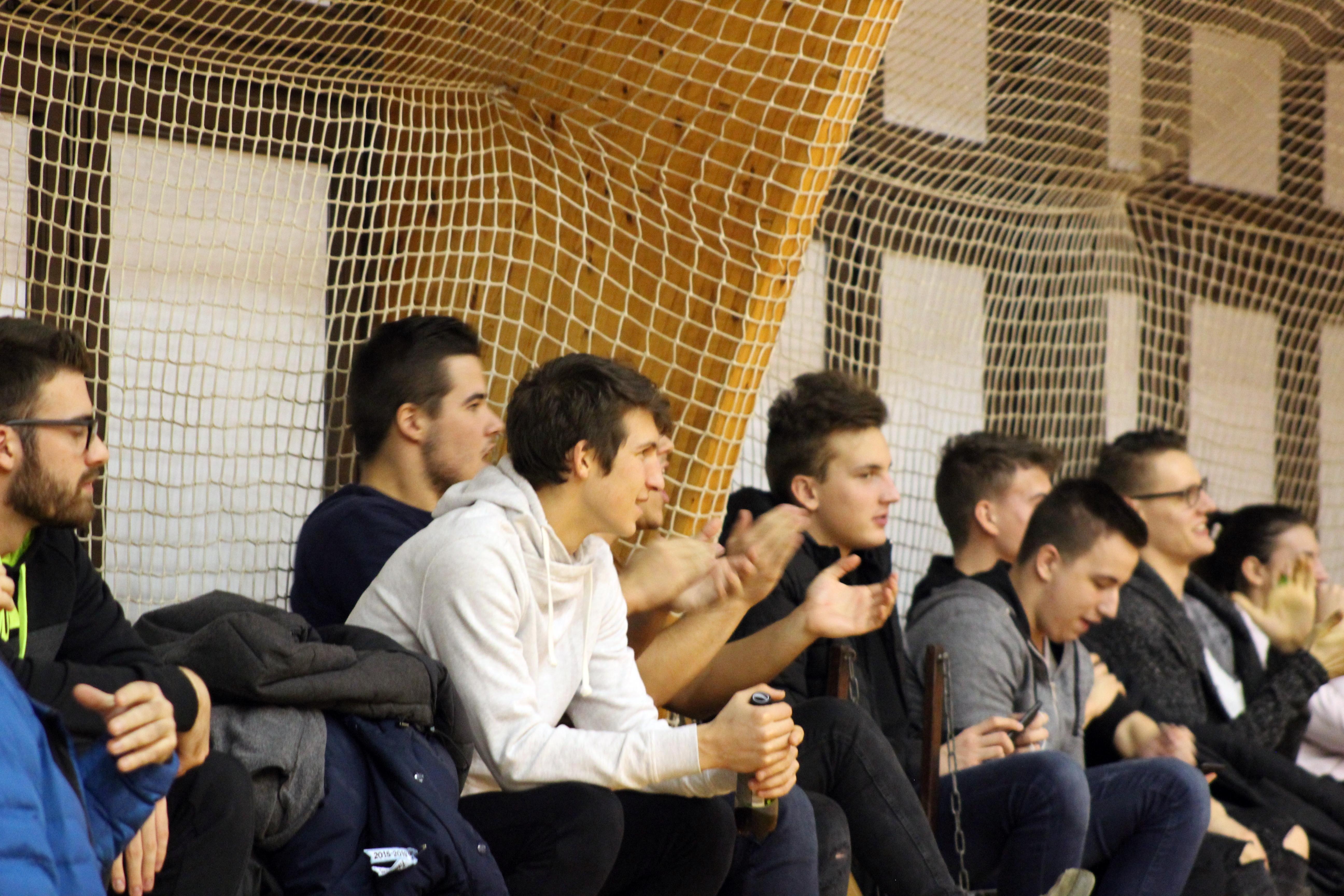 Sokan voltak kíváncsiak a SZoESE - BME férfi kosárlabda mérkőzésre. Fotó: Mihajliv Renáta